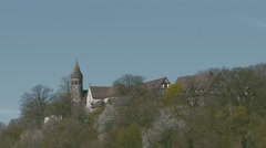 German Monastery of Lorch - stock footage