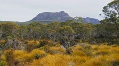 Mt gould tasmania Stock Footage