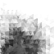 Abstract grayscale light template background Stock Illustration