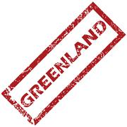 Stock Illustration of New Greenland rubber stamp