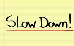 Slow Down Concept Piirros