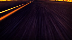 Animated Graphic of a Gritty Textured Road - stock footage