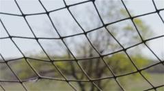 Soccer net Stock Footage