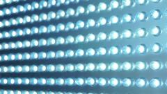 LED panel blue lighting abstract Stock Footage