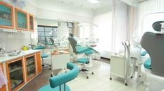 Dentist office Stock Footage