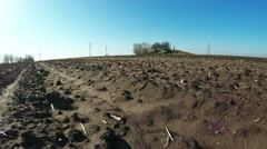 Bare soil Stock Footage