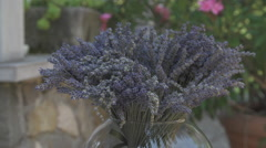 Bouquet Of Lavender Stock Footage