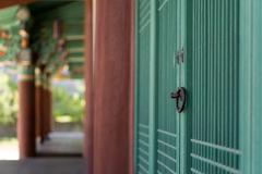 traditional door knob - stock photo