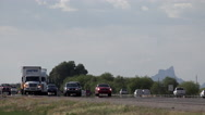 Stock Video Footage of 4K Exceptionally Fast Highway Traffic Cars Trucks Transportation Time Lapse