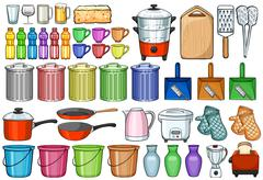 Stock Illustration of Home appliances