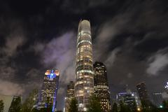 Dallas at night Kuvituskuvat