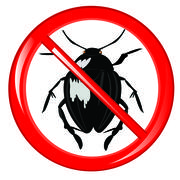 Sign insect it is impossible - stock illustration
