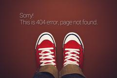 Top View of 404 Error, Page Not Found Kuvituskuvat