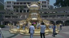 Hong Kong - Heritage 1881 Former Marine Police HQ Stock Footage