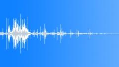 Snow and Ice, Hard snow or ice scrape debris 02 Sound Effect