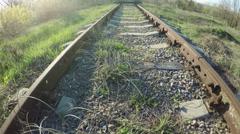 Railway siding Stock Footage