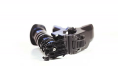 Stock Video Footage of Monopod Flex Clamp