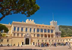 Stock Photo of 2013.05.29, Monaco, Monte-Carlo: Prince's Palace of Monaco. Sunny Day, Clear