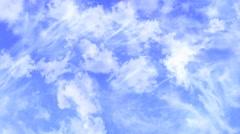 Sky Flight Through Clouds HD Stock Footage