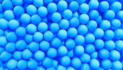Balls spheres transition fill screen composite overlay wipe reveal - stock footage