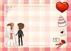 Wedding Stock Illustration