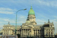 Palace of Congress, Buenos Aires, Argentina - stock photo