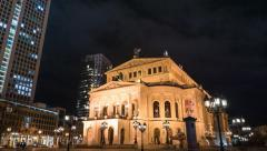 "Frankfurt am Main ""Alte Oper"" - hyperlapse - 4K UHD Stock Footage"