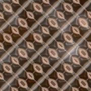 Rusted iron plate seamless generated texture Stock Illustration