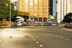 City Traffic - Buenos Aires, Argentina Stock Photos