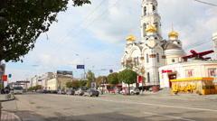 Orthodox church Stock Footage