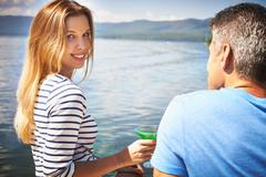 Summer romance Stock Photos