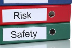 Stock Photo of Risk and safety management analysis in company business concept