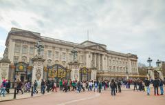 Buckingham palace in London, Great Britain Kuvituskuvat