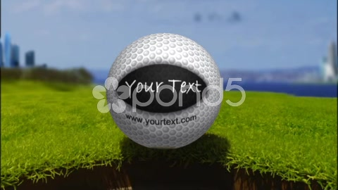 After Effects Project - Pond5 Golf Ball Title for AE6 49534211