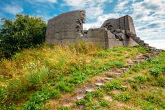 Historic Suomenlinna, Sveaborg maritime fortress In Helsinki, Fi Stock Photos
