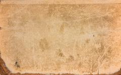 Old Yellow Paper Vintage Texture Background For Artwork Stock Photos