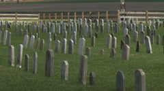 Amish Cemetary 2 - stock footage