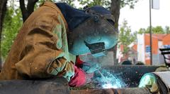Welding Work - stock photo