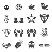 Peace Icons Piirros
