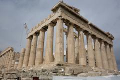 Acropolis in Athens Stock Photos