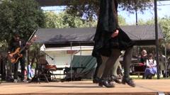 Scottish, dancing troop Stock Footage