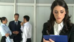 Stock Video Footage of Job interview recruitment