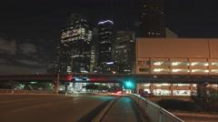 Downtown Houston Timelapse Arkistovideo