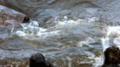 Small waves Stock Footage