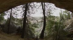 Cave Overhang, Mesa Verde National Park, Stock Footage