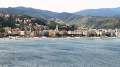 Ligurian coast Stock Footage