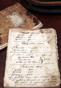 Ancient cookbook Stock Photos