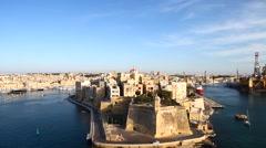 Malta, La valletta Stock Footage
