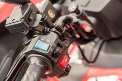 ATV Gearbox Lever Shift Stock Photos