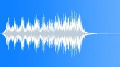 Scifi cosmic turbine short run Sound Effect